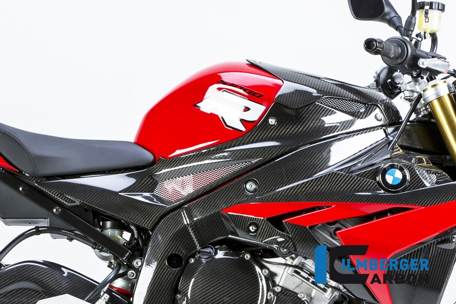Ilmberger GLOSS Carbon Fibre Rear Seat Light Cover Panel BMW S1000R 2013