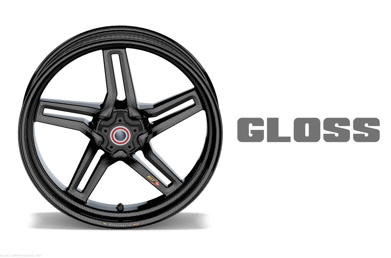Carbon Fiber Rapid Tek Front Wheel 5 Split Spoke 3 5 X 17 By Bst