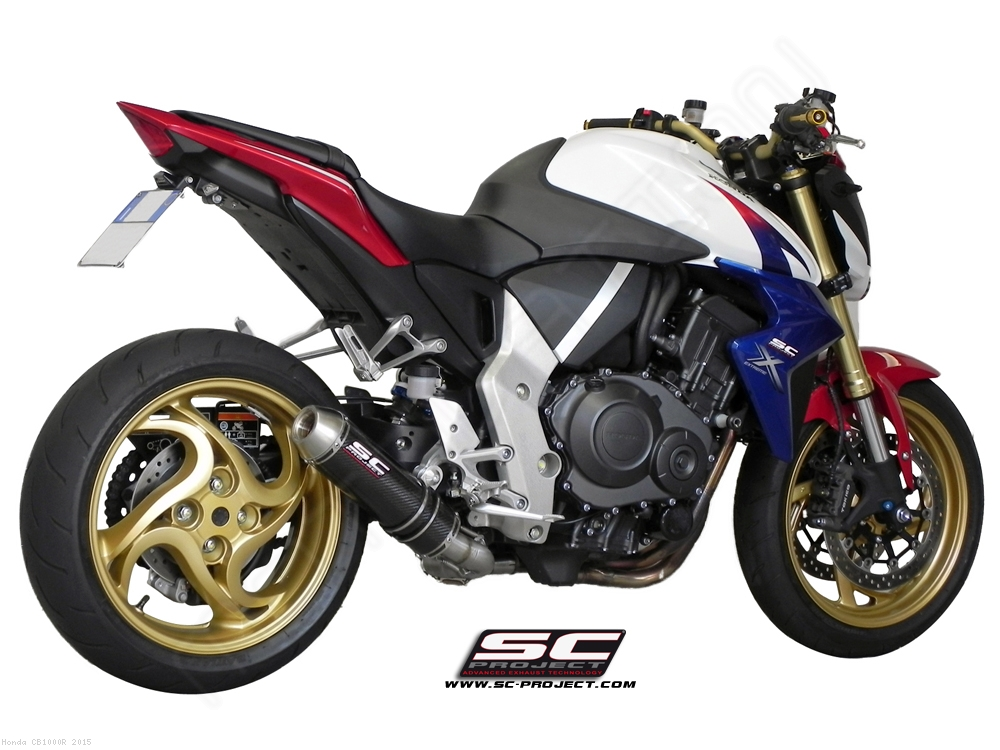 GP EVO De Cat Exhaust By SC Project Honda CB1000R 2015