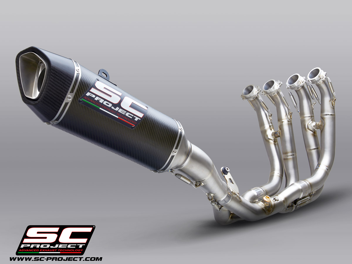 Sc1 R Full System Exhaust By Sc Project B33 Tc91c
