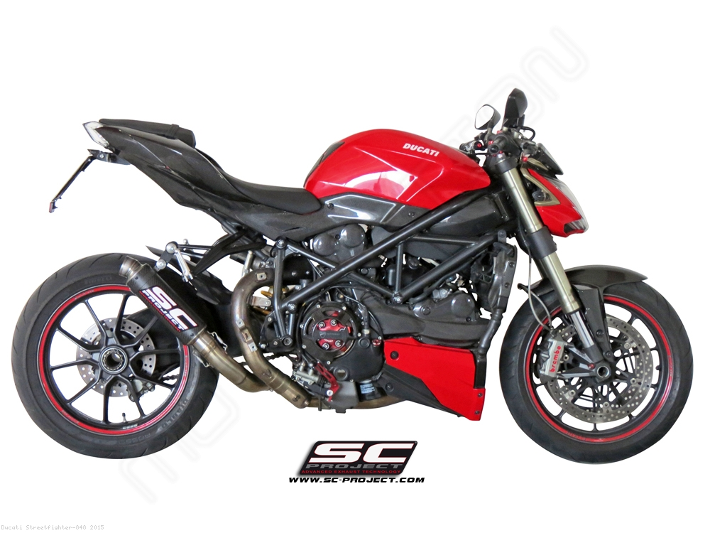 GP-M2 Exhaust by SC-Project Ducati / Streetfighter 848 / 2015