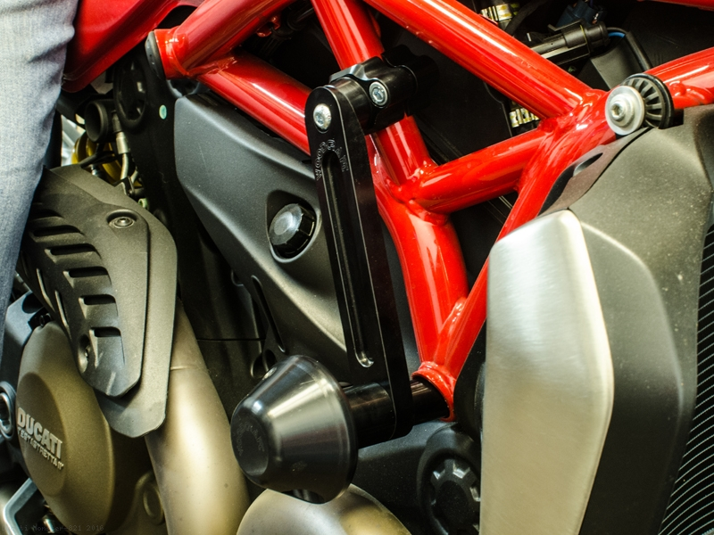 frame sliders by woodcraft ducati monster 821 2016