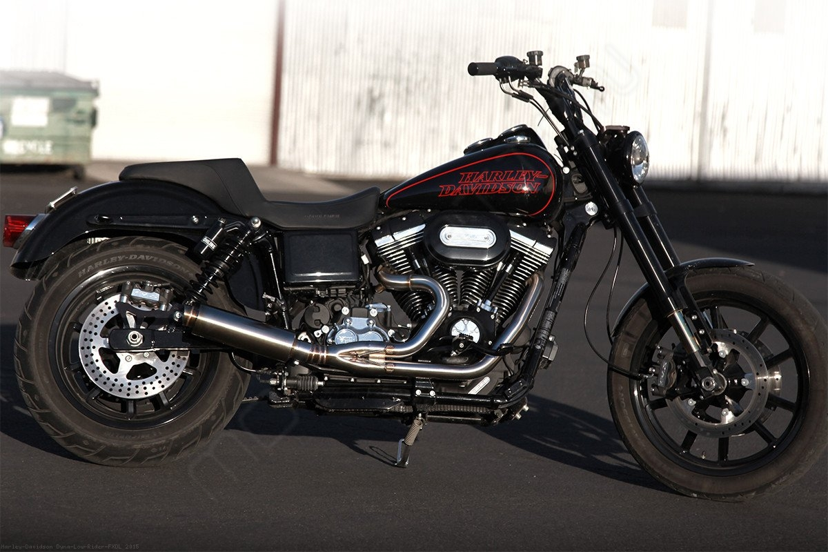 Custom Harley Davidson Dyna By Kraus: KR 2 Into 1 Performance Exhaust By Kraus Harley Davidson