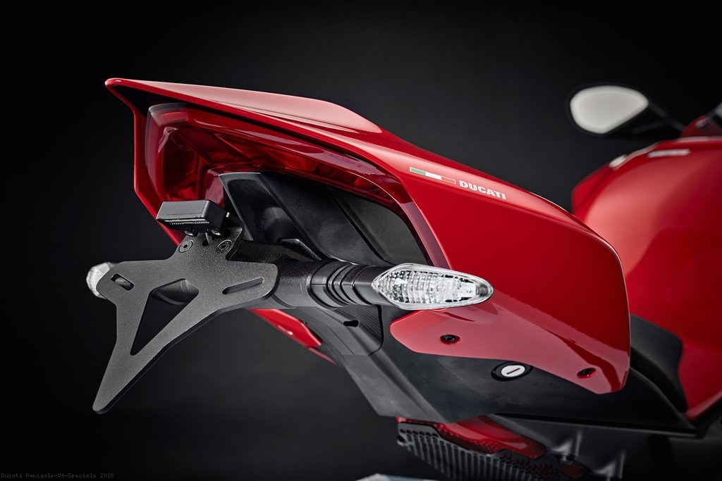 Tail Tidy Fender Eliminator By Evotech Performance Ducati