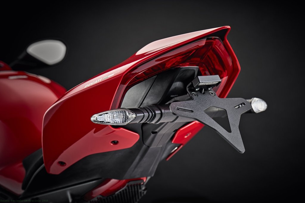 Tail Tidy Fender Eliminator By Evotech Performance Ducati