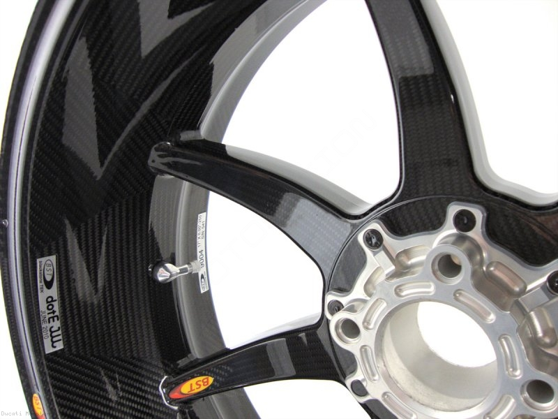 7 Spoke Carbon Fiber Wheel Set By Bst Ducati Monster 1100 2009
