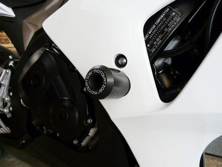 Suzuki GSXR 1000 (2009-2011) Frame Sliders by Motovation Accessories