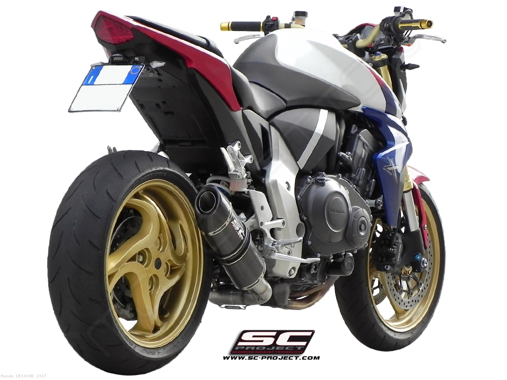 Oval De Cat Exhaust By SC Project Honda CB1000R 2017 H01 12