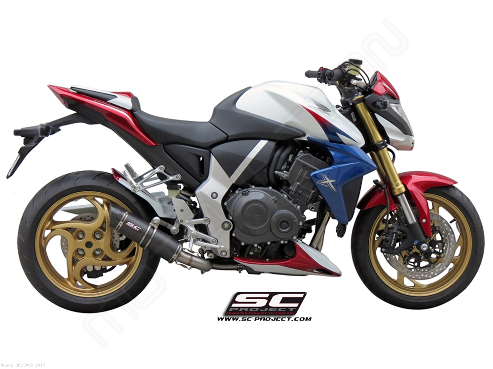 GP Tech De Cat Exhaust By SC Project Honda CB1000R 2017 H01 28C