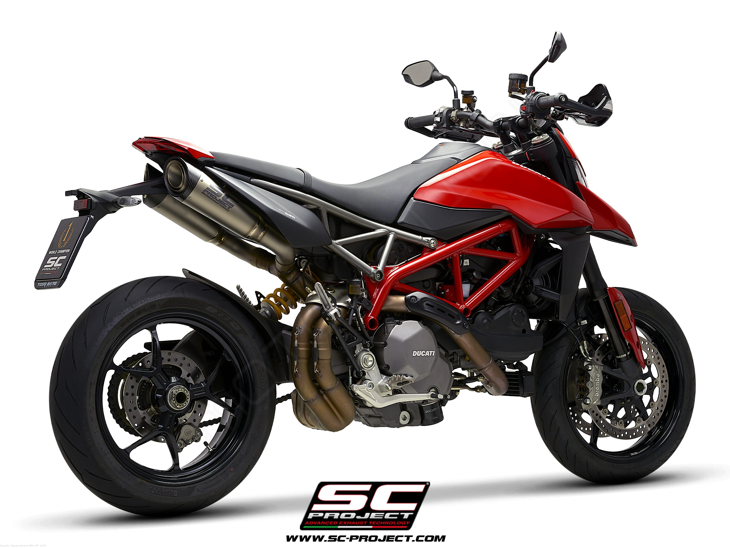 S1 Exhaust by SC-Project Ducati / Hypermotard 950 SP / 2019
