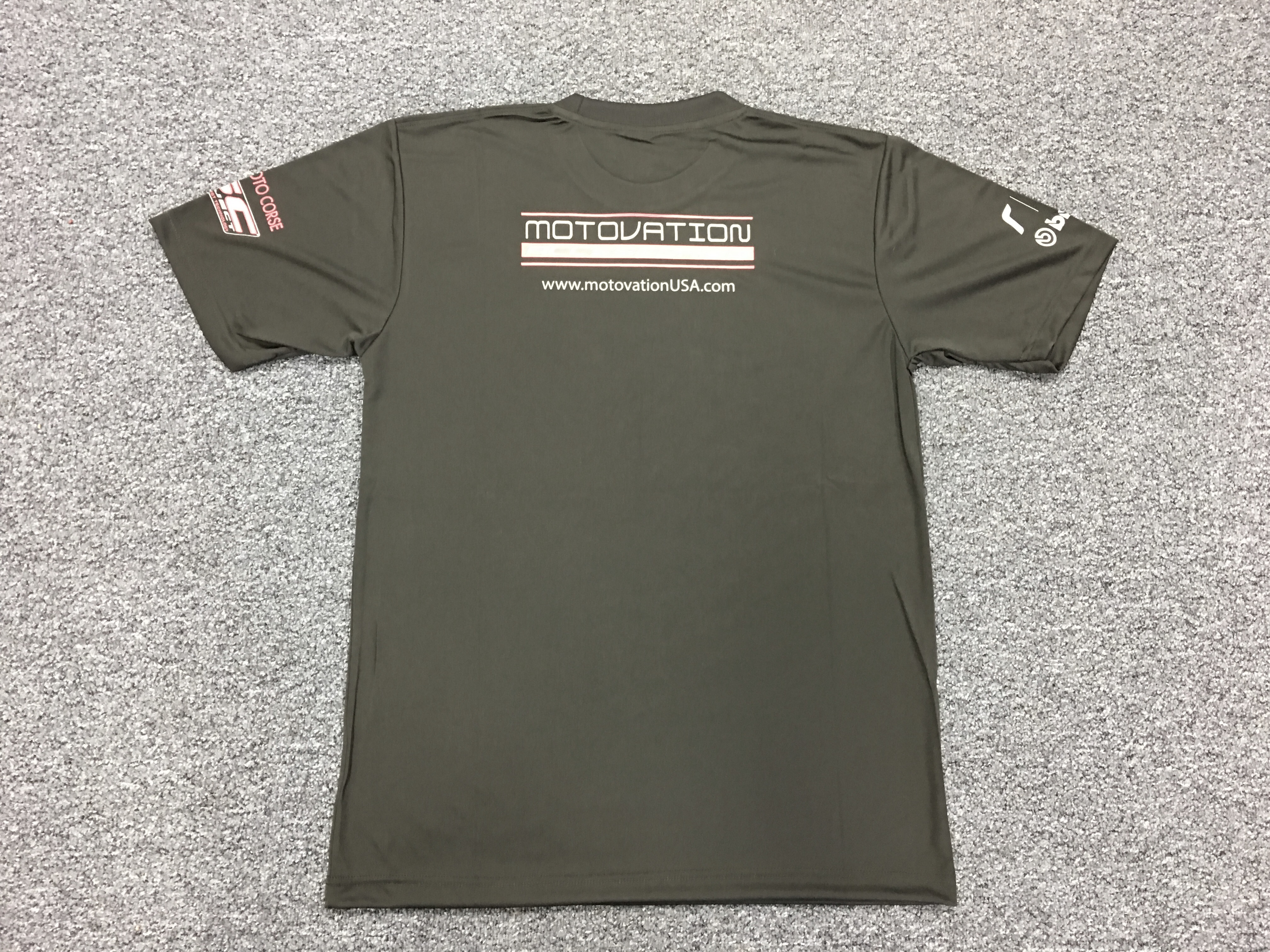 Motovation performance t shirt tee for Custom dri fit t shirts
