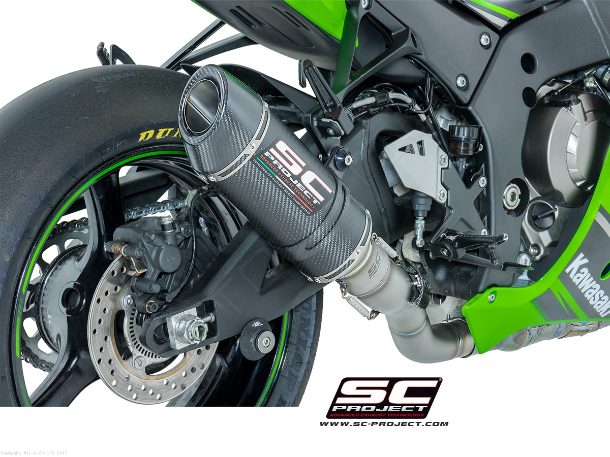 Oval Racing Exhaust By SC Project Kawasaki Ninja ZX 10R 2017