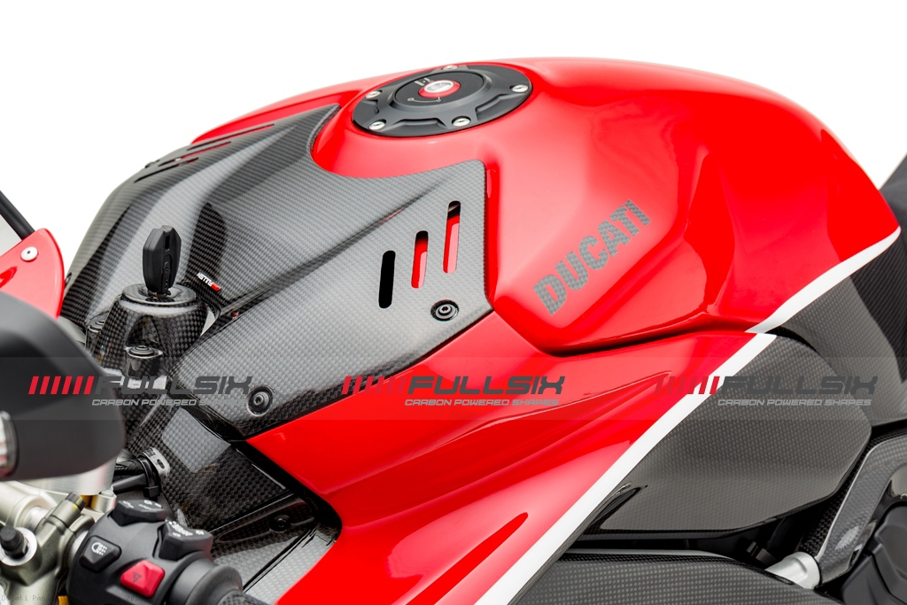 Carbon Fiber Fuel Tank By Fullsix Ducati Panigale V4 Speciale