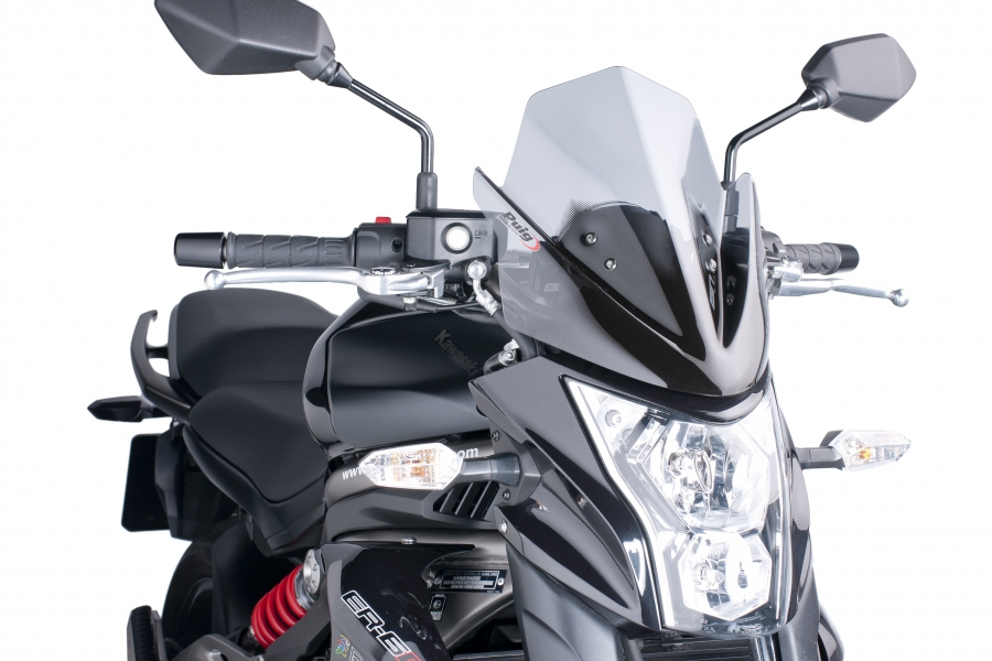 PUIG Fairing Naked N. G.Sport Kawasaki ER-6N 2014 Clear | eBay