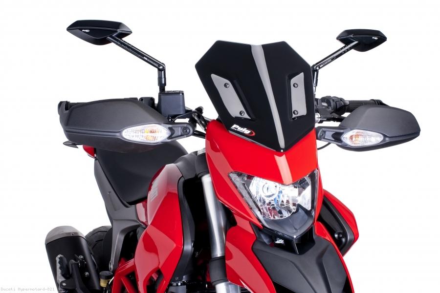 Puig New Generation Sport Screen - Ducati Hypermotard 950