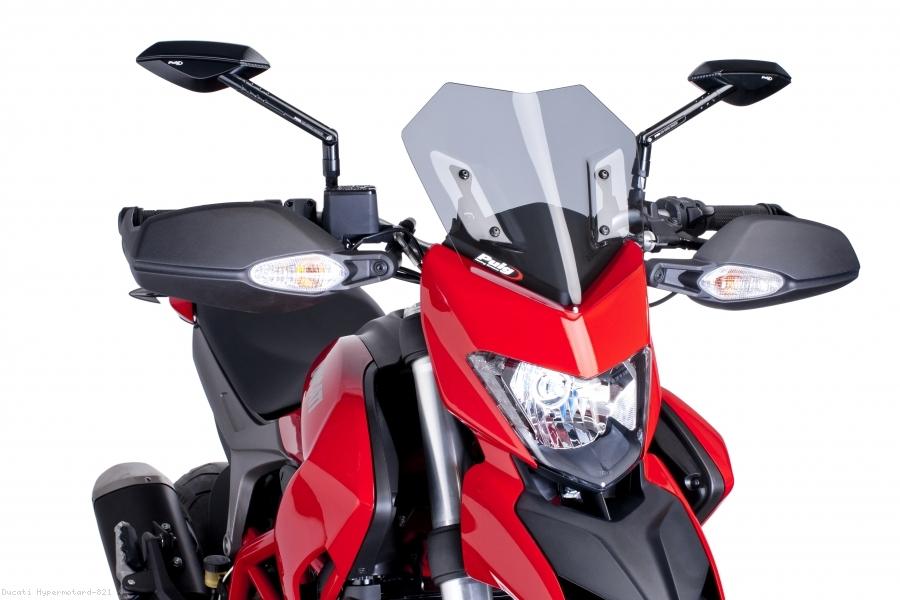 Puig Naked New Generation Windscreen Ducati Hypermotard