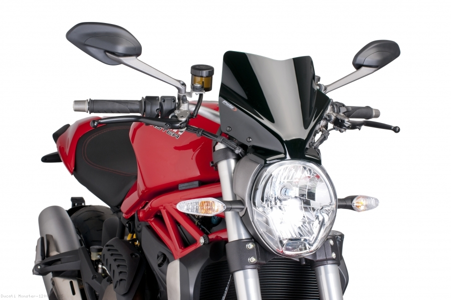 Puig Windshield Naked New Generation Sport for Triumph