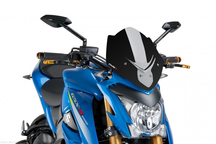 Suzuki GSR600 Puig Naked New Generation Sport Transparent