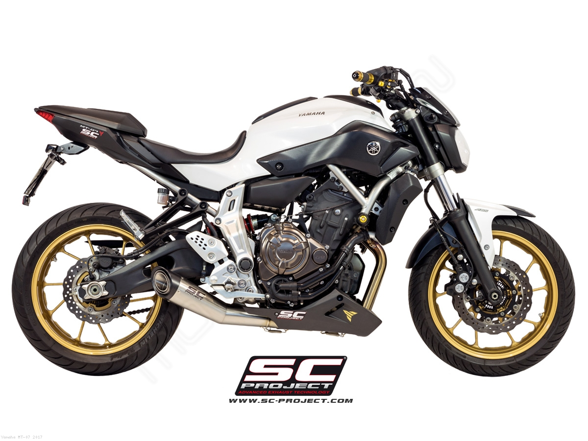 s1 exhaust by sc project yamaha mt 07 2017 y14 c41a. Black Bedroom Furniture Sets. Home Design Ideas