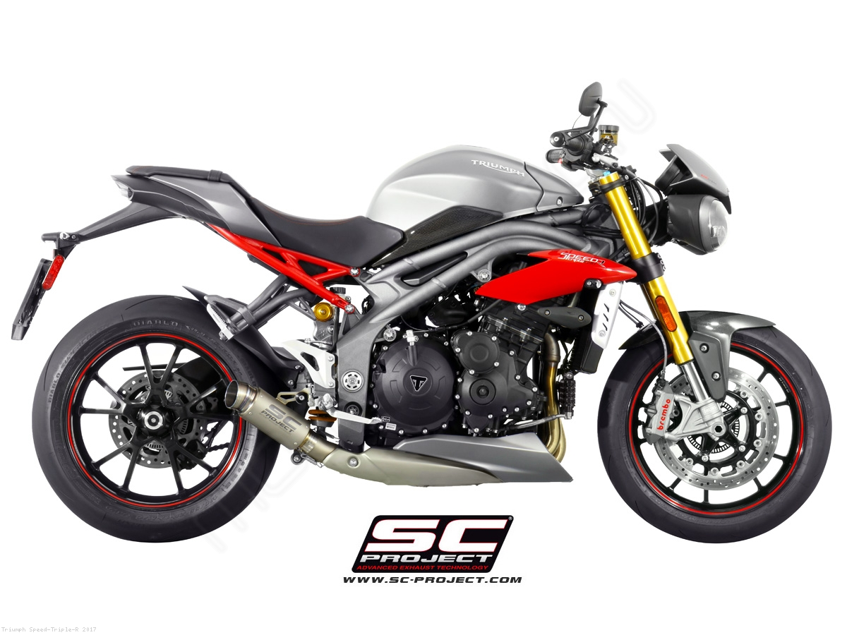 gp70 r exhaust by sc project triumph speed triple r 2017 t16 lt70t. Black Bedroom Furniture Sets. Home Design Ideas