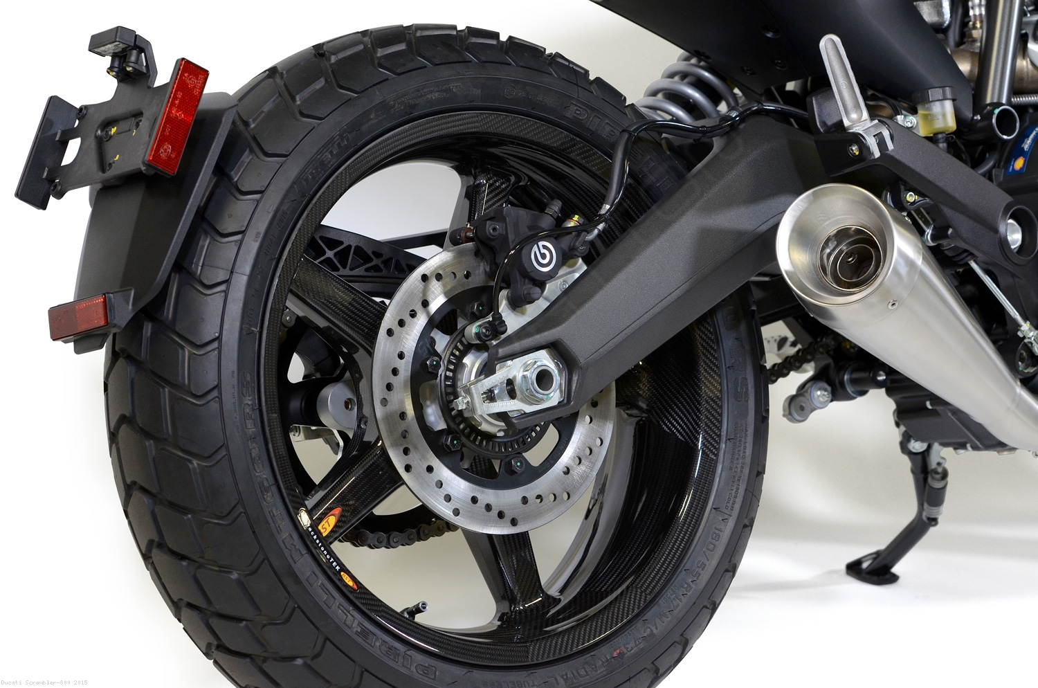 5 Spoke Carbon Fiber Wheel Set By Bst Ducati Scrambler 800 2015