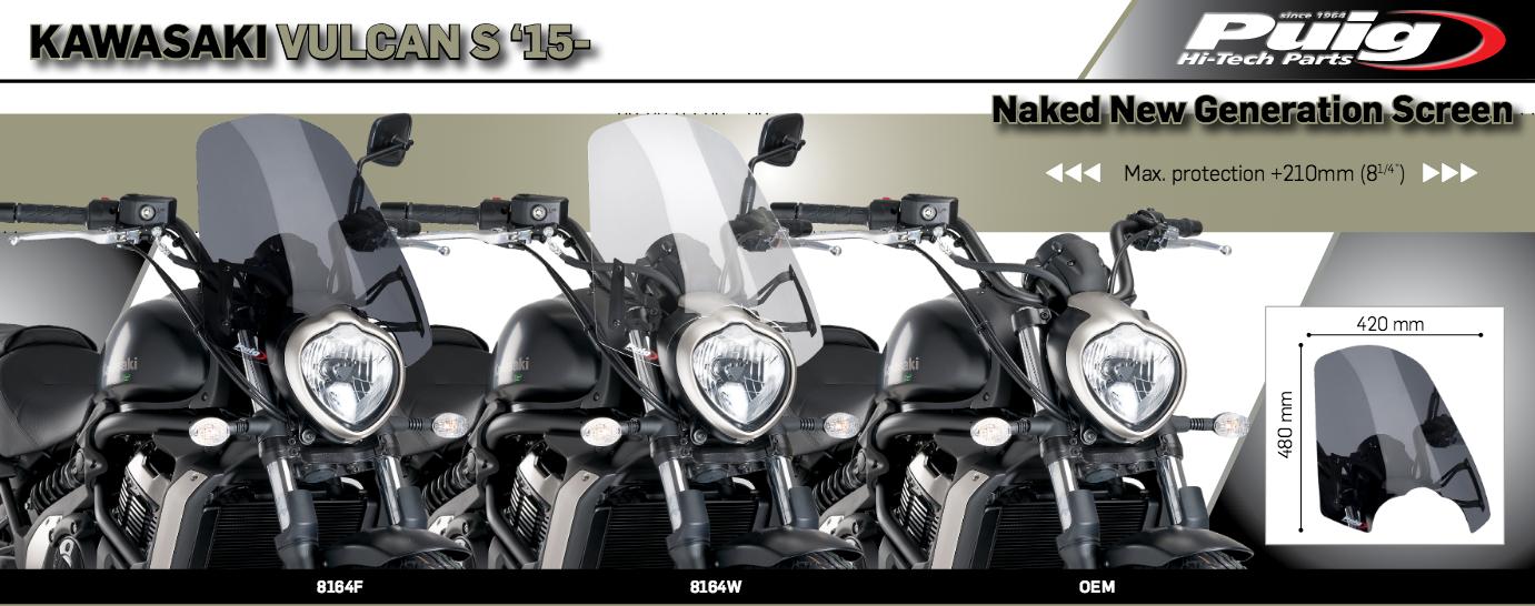 Puig Naked New Generation Sport Windscreen Dark Smoke