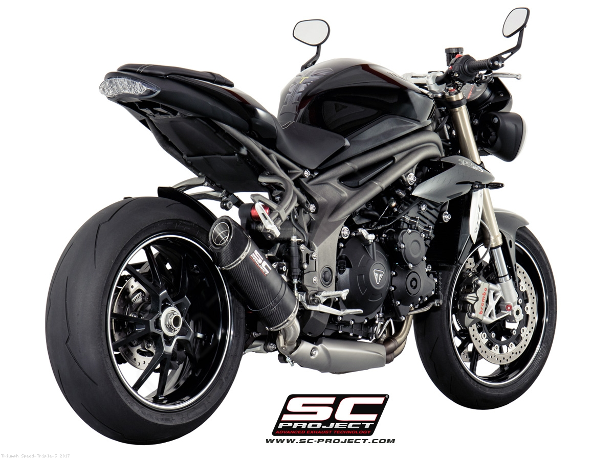 oval low mount exhaust by sc project triumph speed triple s 2017 t16 l12. Black Bedroom Furniture Sets. Home Design Ideas