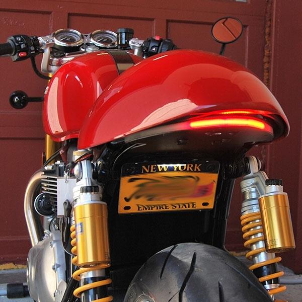 Fender Eliminator Integrated Tail Light Kit By Nrc Triumph