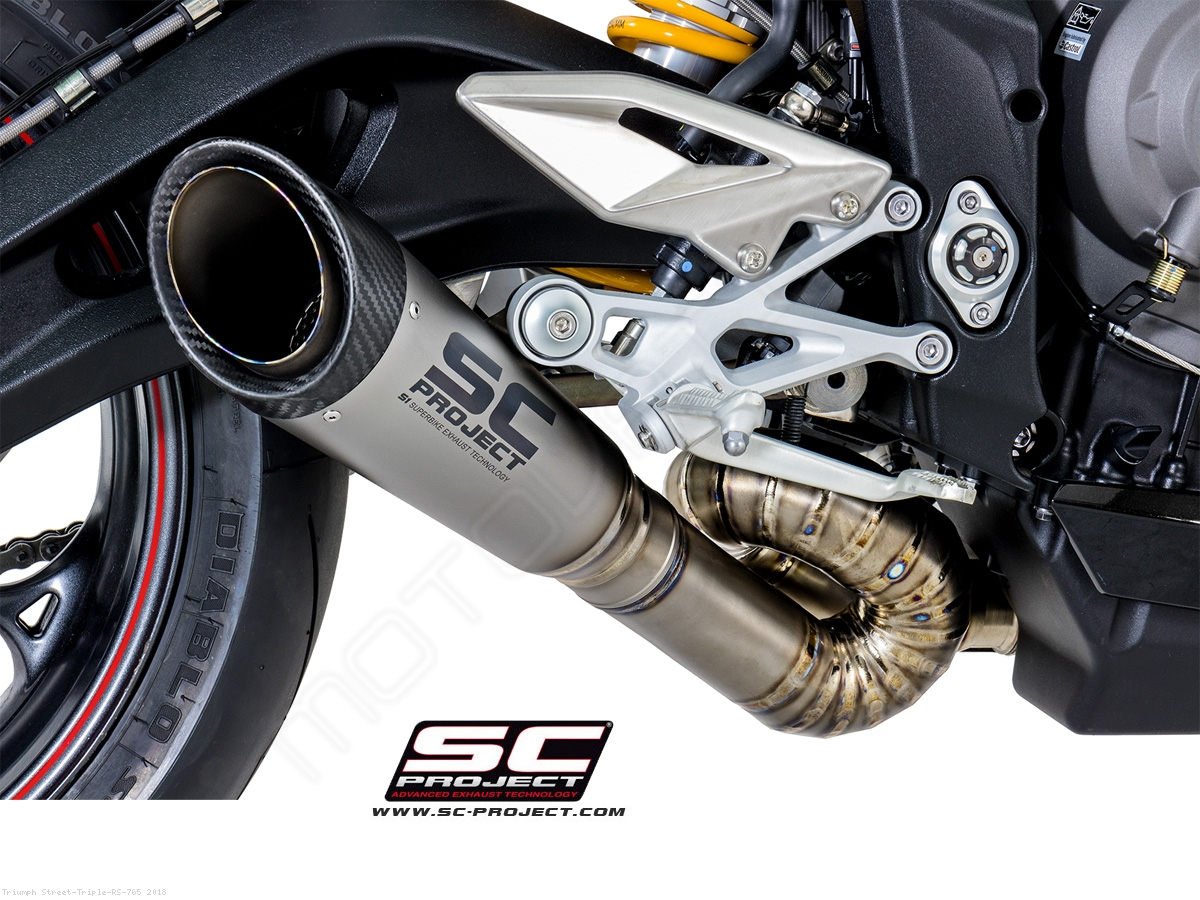 S1 Exhaust by SC-Project Triumph / Street Triple RS 765 / 2018 ...