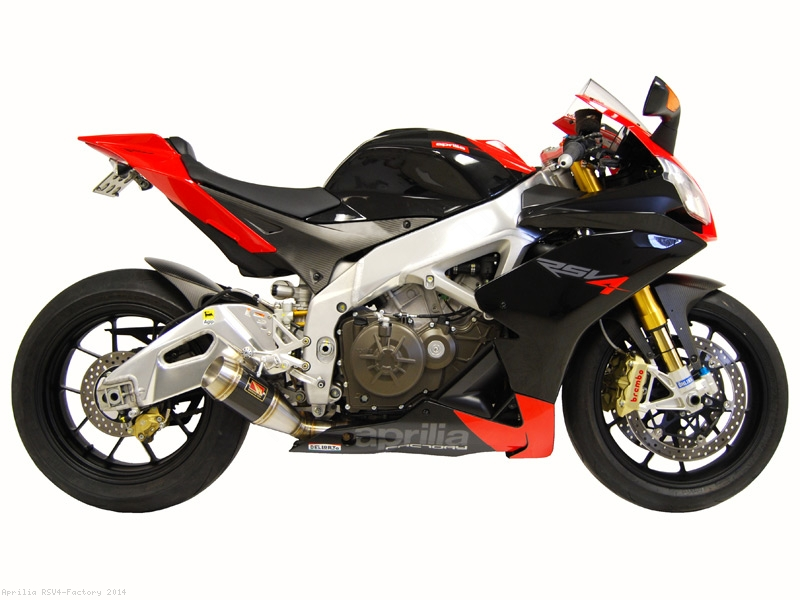 Gp Slip On Exhaust By Competition Werkes Aprilia Rsv4 Factory