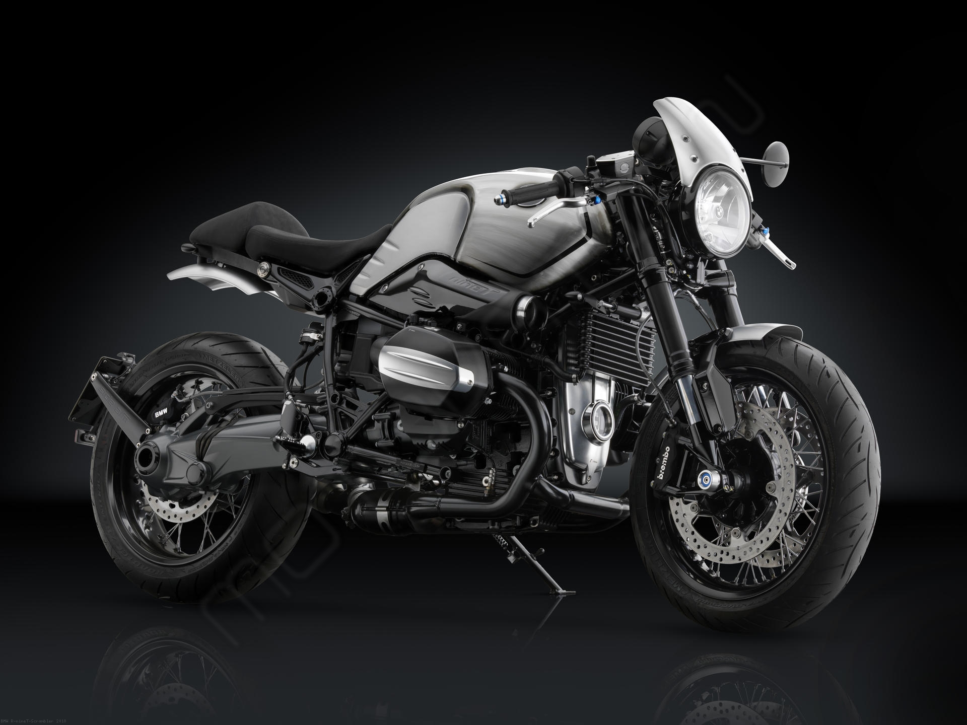 air intake tip by rizoma bmw r ninet scrambler 2018. Black Bedroom Furniture Sets. Home Design Ideas