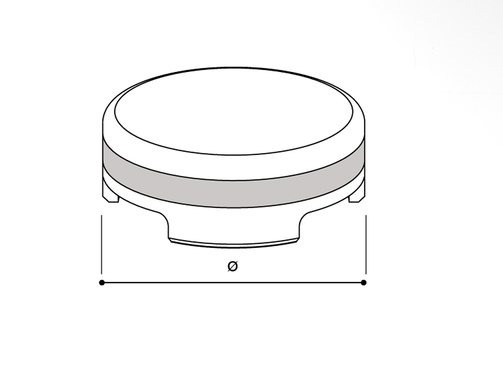 rizoma front brake fluid tank cover  tp016