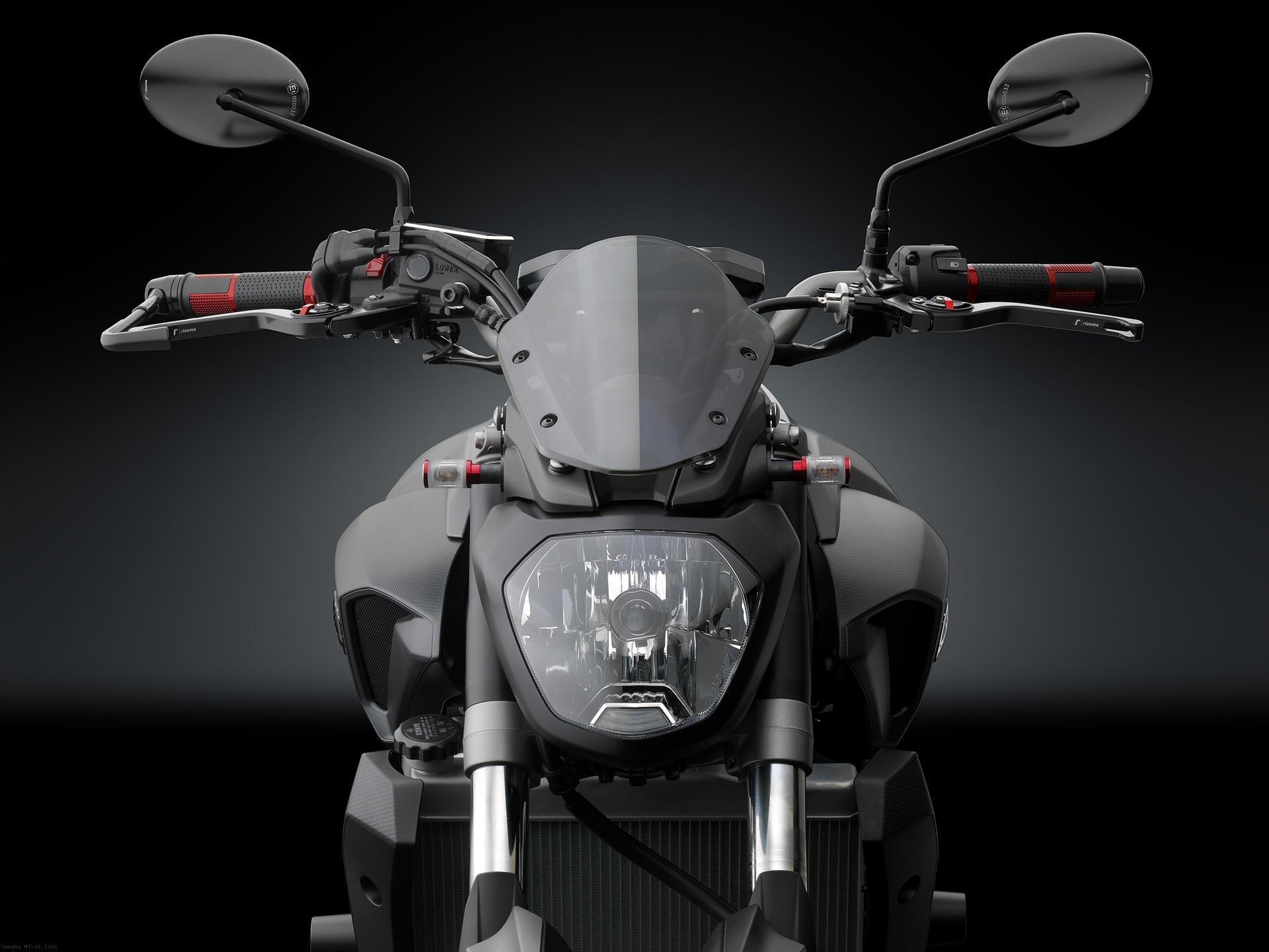 Polycarbonate Headlight Fairing By Rizoma Yamaha MT 09 2016
