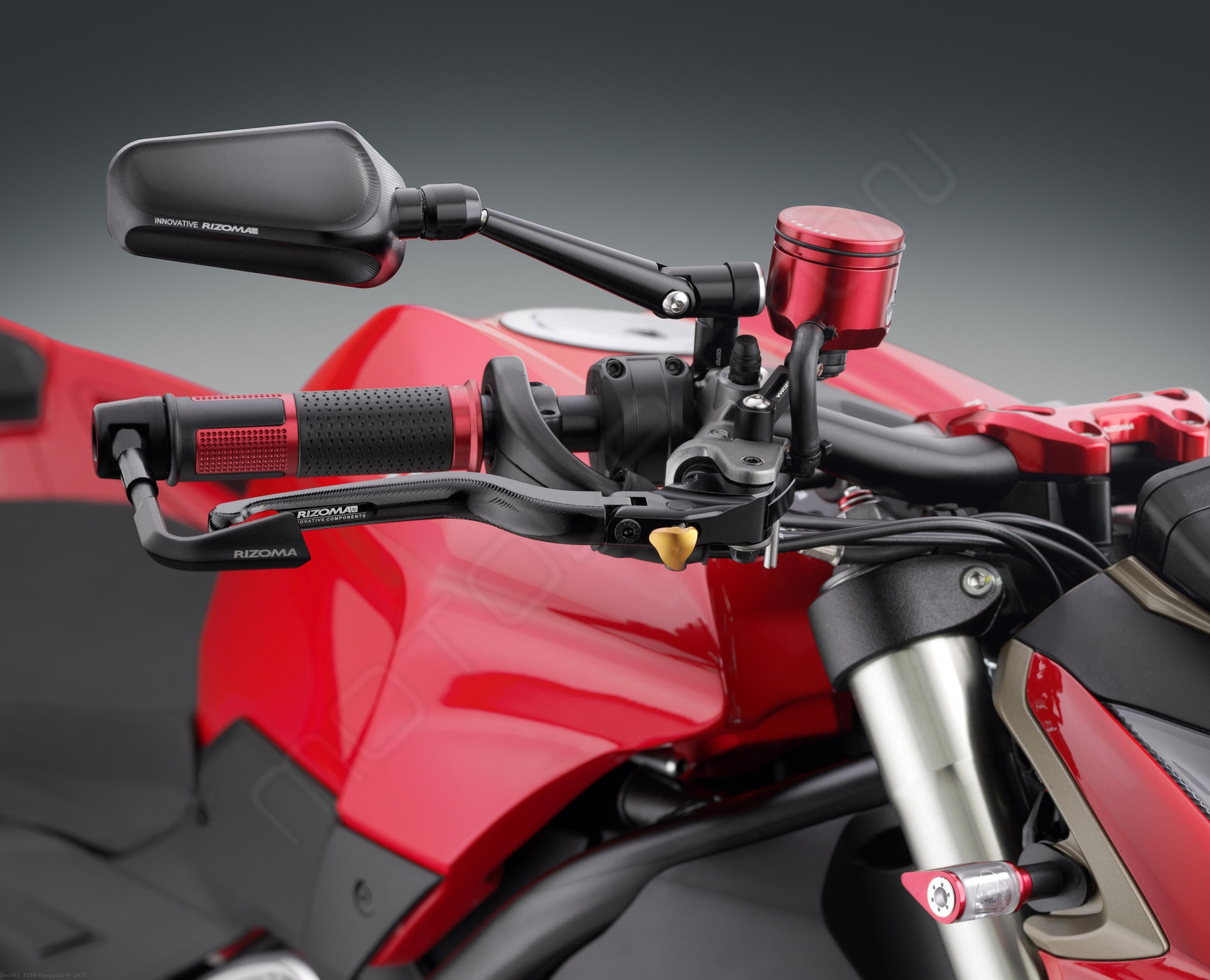 ride by wire lux billet aluminum grips by rizoma ducati. Black Bedroom Furniture Sets. Home Design Ideas