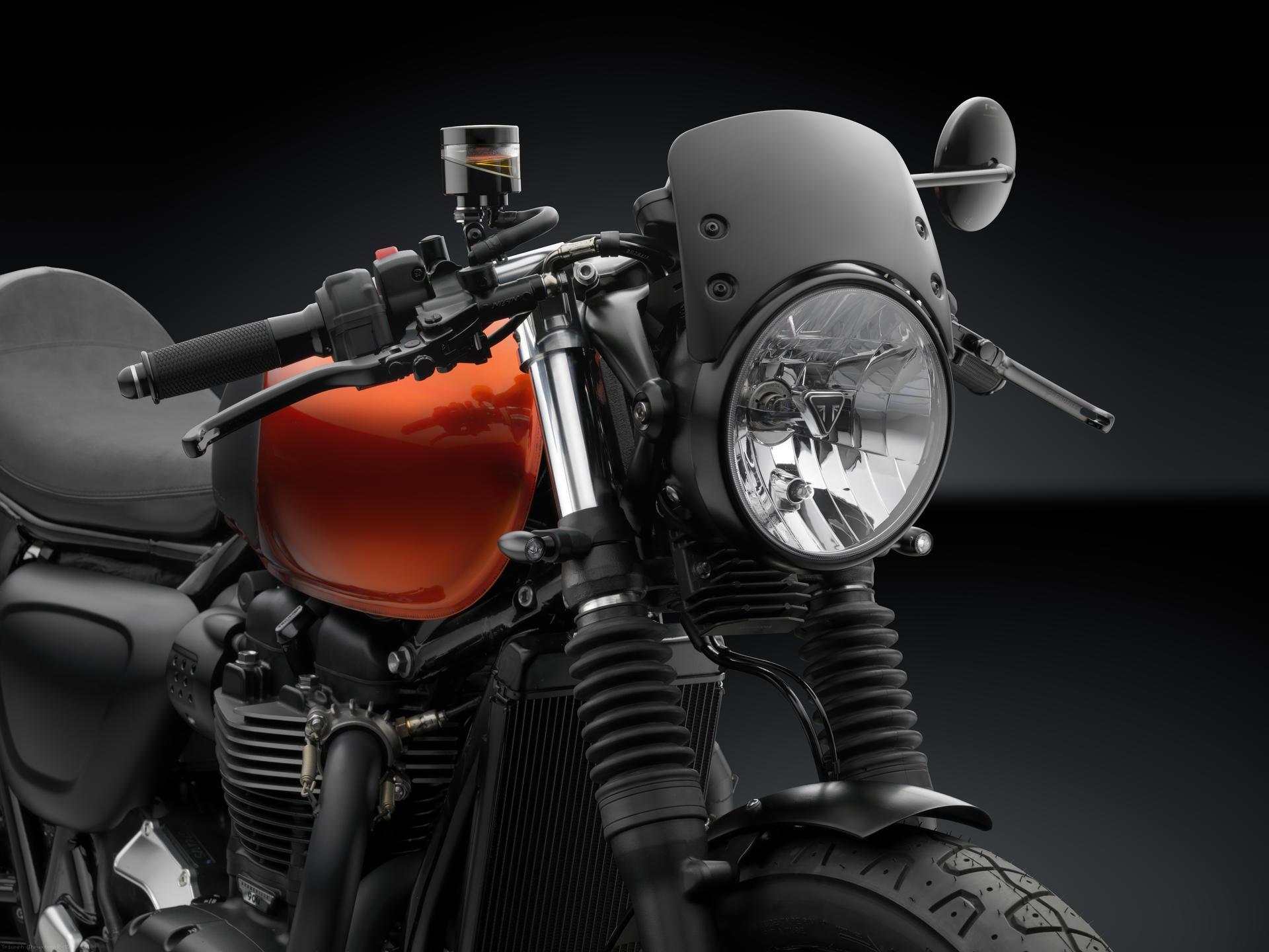 BMW Maintenance Program >> Low Height Aluminum Headlight Fairing by Rizoma Triumph ...