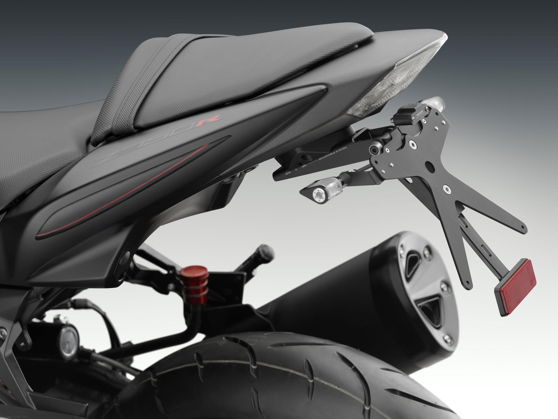 Rizoma License Plate Tail Tidy Kit Kawasaki Z750R 2011