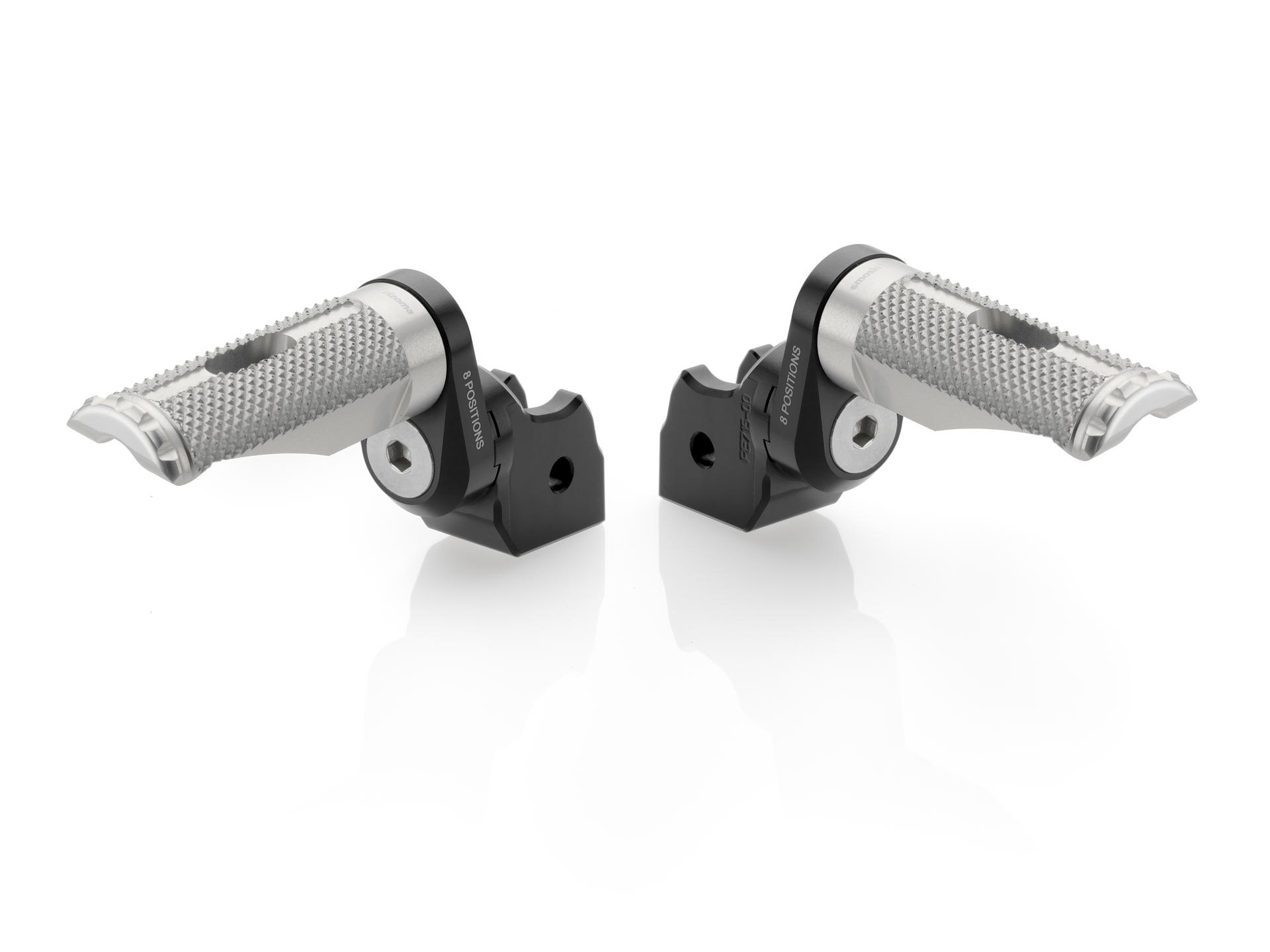 Eccentric Adjustable Footpeg Adapters By Rizoma Pe715b