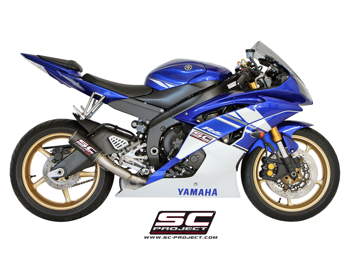 Yamaha r6 2006 2016 cr t exhaust by sc project for 2006 yamaha yzf r6