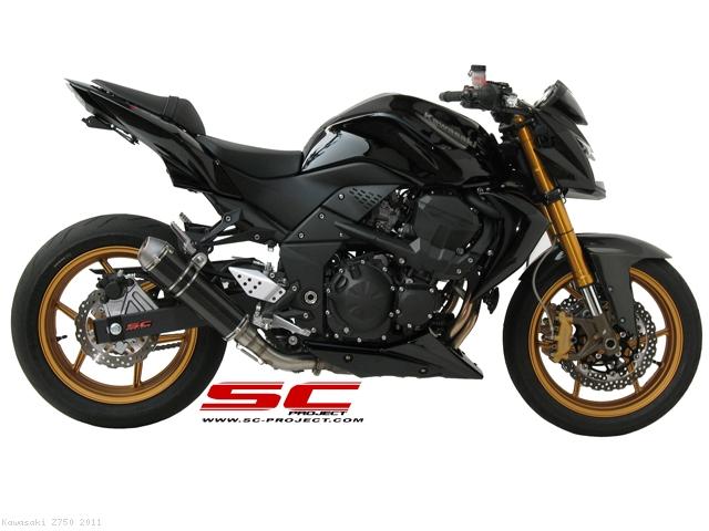 GP EVO Exhaust By SC Project Kawasaki Z750 2011