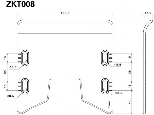 Rizoma Headlight Fairing Polycarbonate for Yamaha MT-07,MT-09