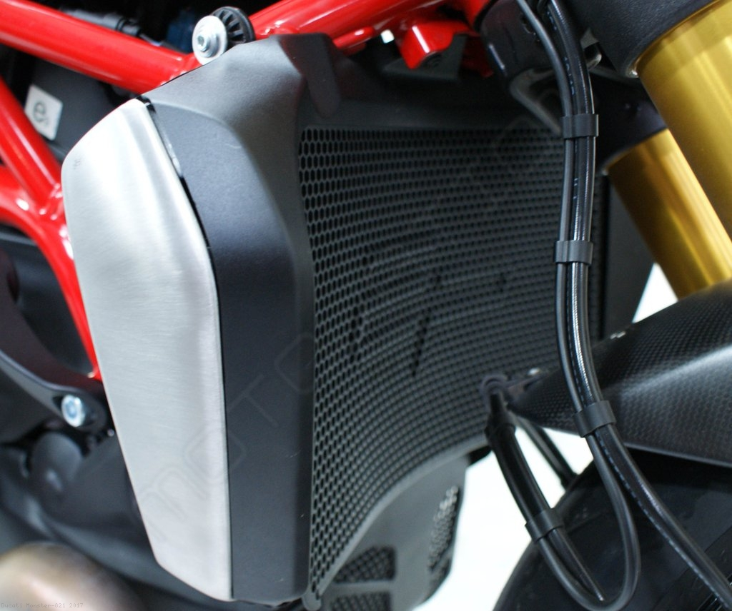 Radiator Guard By Evotech Performance Ducati Monster 821 2017