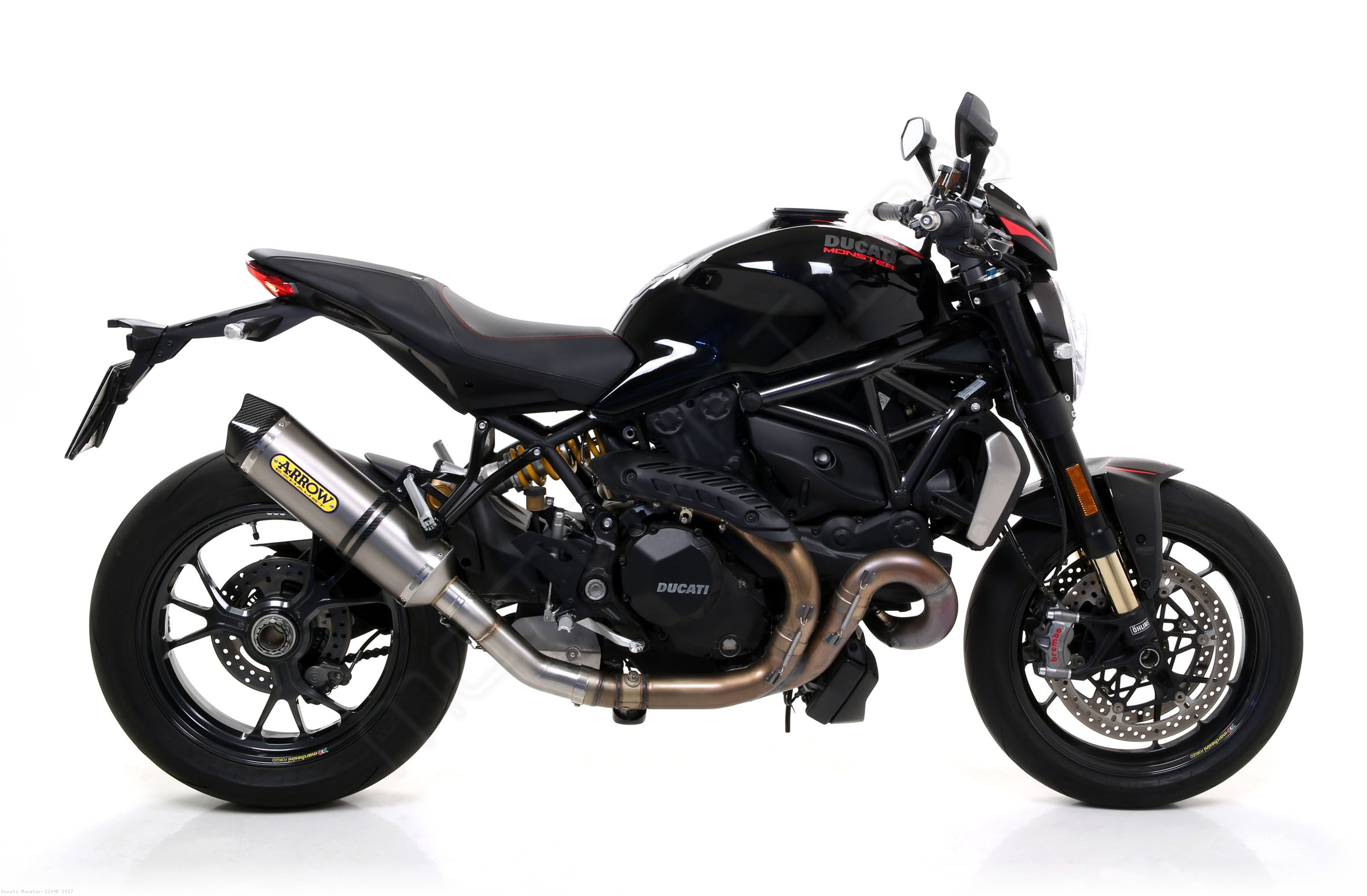 Race-Tech Slip-on Exhaust by Arrow Ducati / Monster 1200R ...