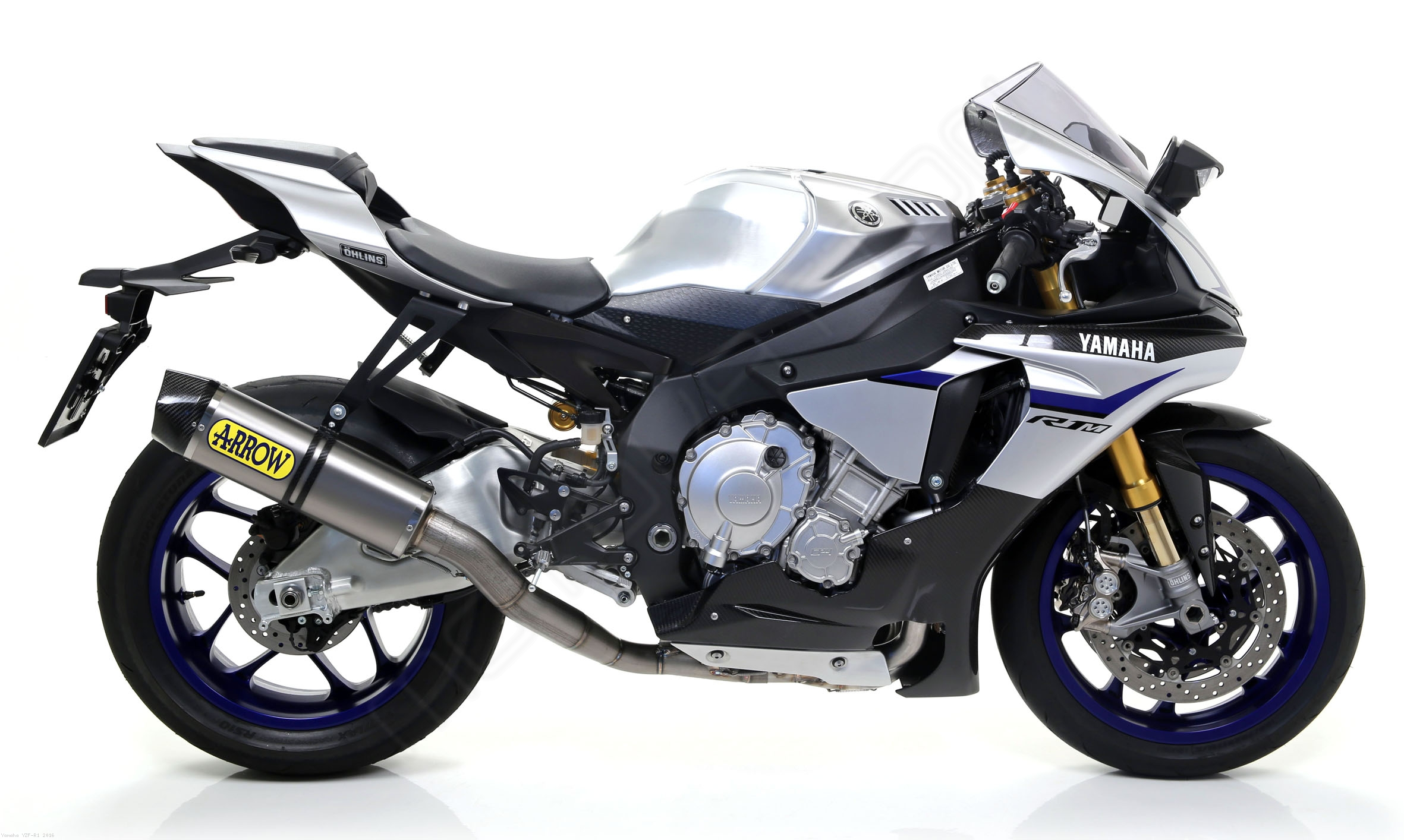 Competition Full Indy Race Exhaust System By Arrow Yamaha YZF R1