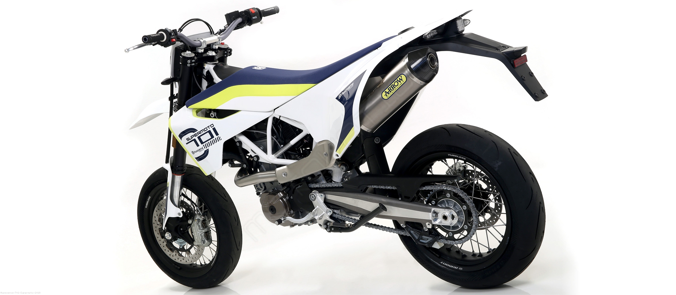 ... Race-Tech Exhaust by Arrow Husqvarna / 701 Supermoto / 2018 ...