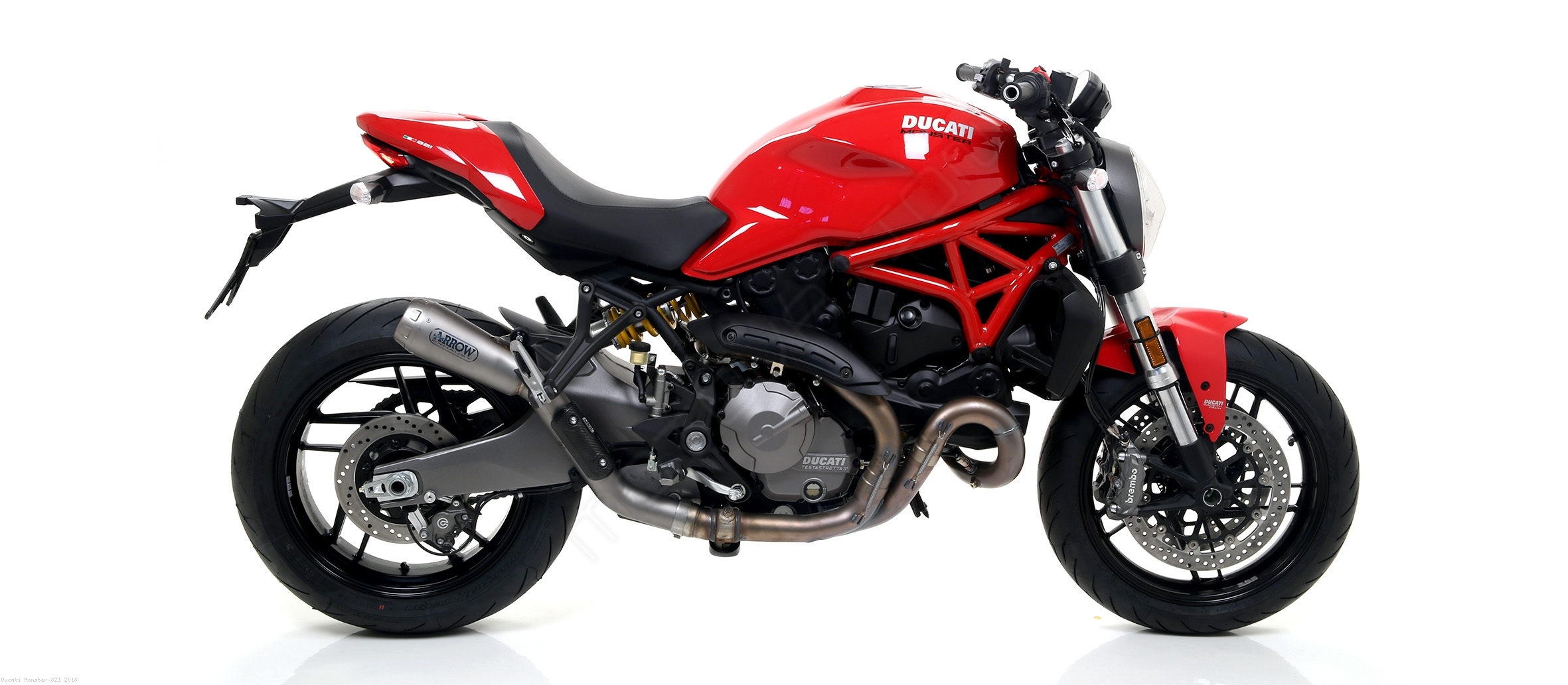 Pro Race Exhaust by Arrow Ducati / Monster 821 / 2018 ...