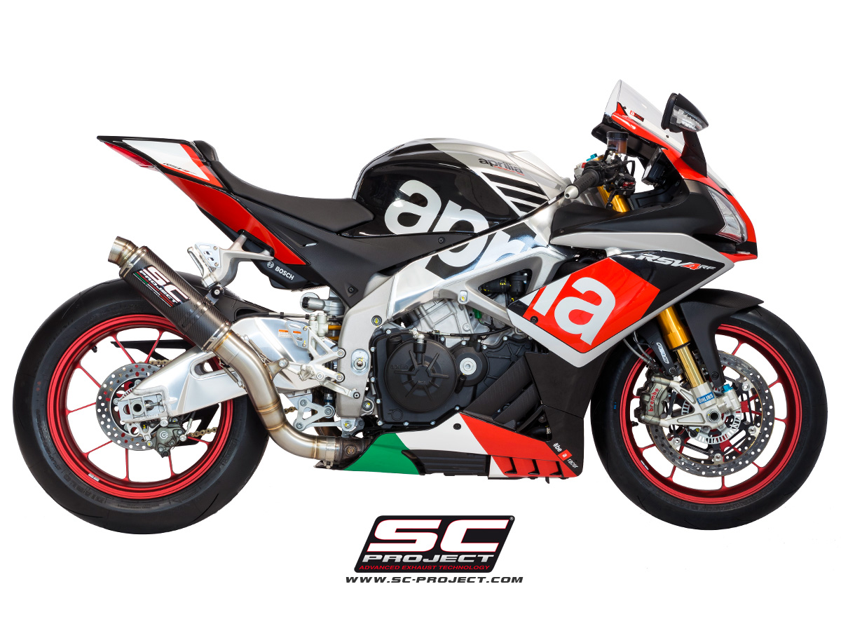 Gp65 Exhaust By Sc Project A15 65c Aprilia Rsv4 Rr Rf