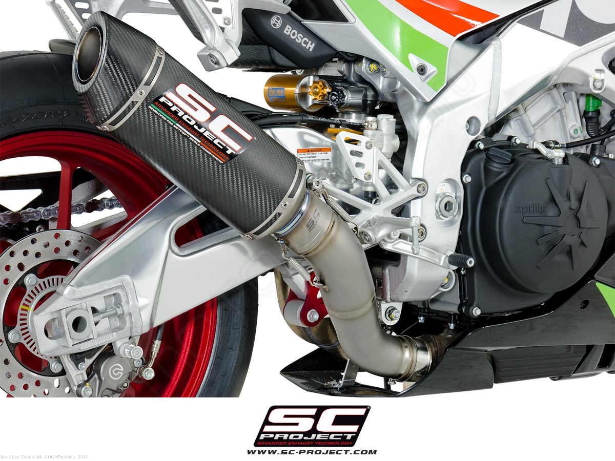 Bmw Loyalty Program >> Oval Racing Exhaust by SC-Project Aprilia / Tuono V4 1100 Factory / 2017 (A16-40FTC)