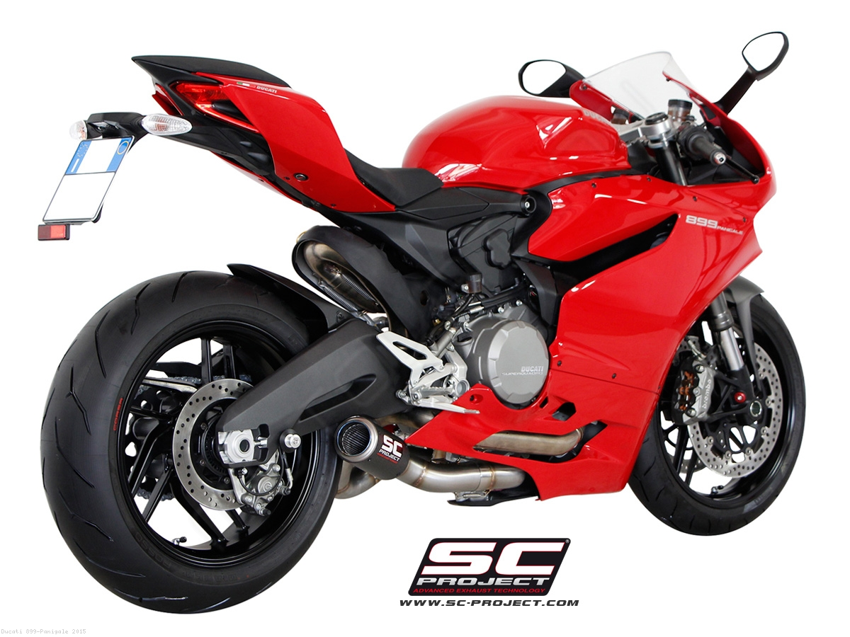 CR-T Exhaust by SC Project Ducati / 899 Panigale / 2015 ...