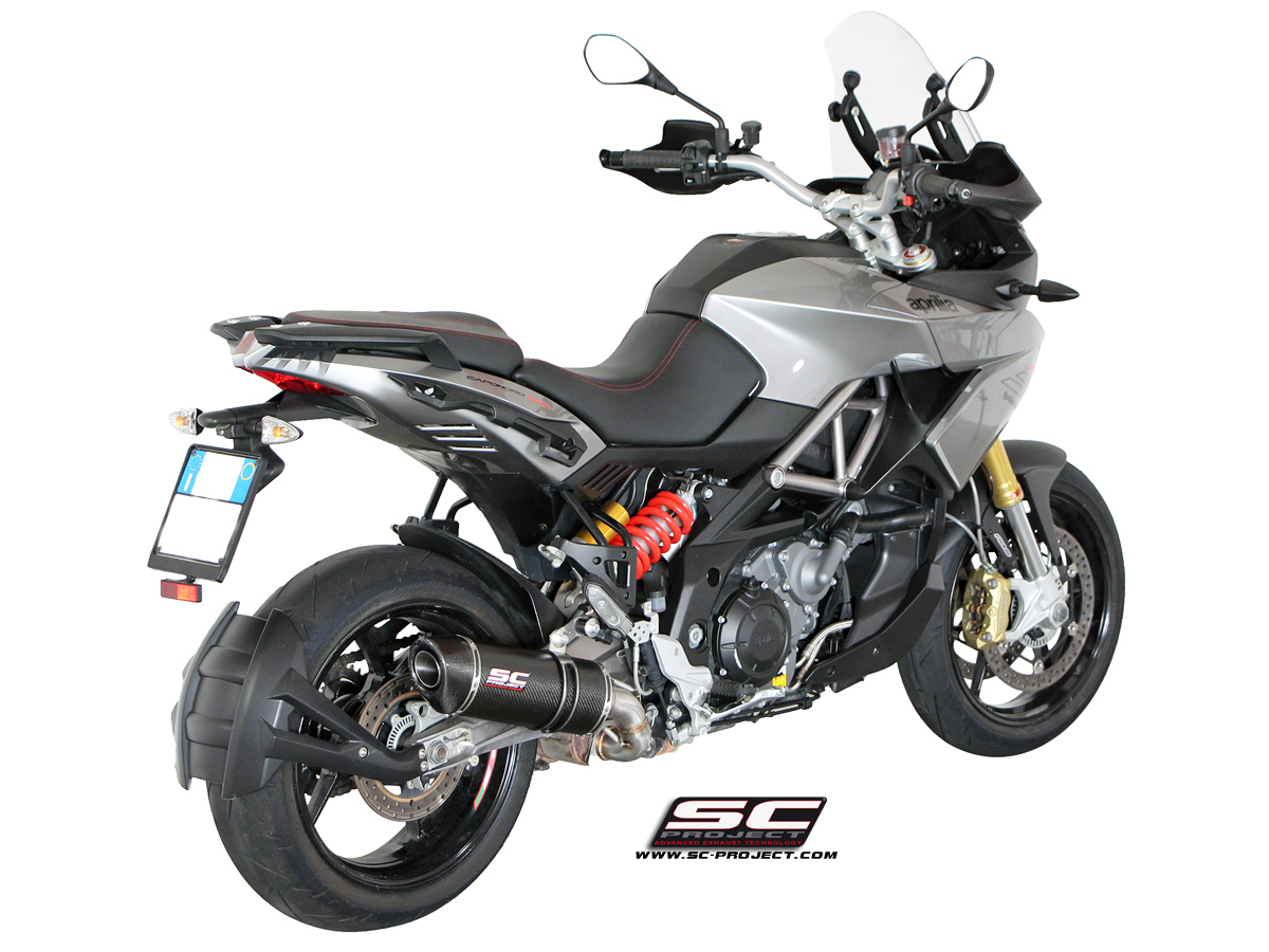 aprilia caponord 1200 oval silencer by sc project. Black Bedroom Furniture Sets. Home Design Ideas