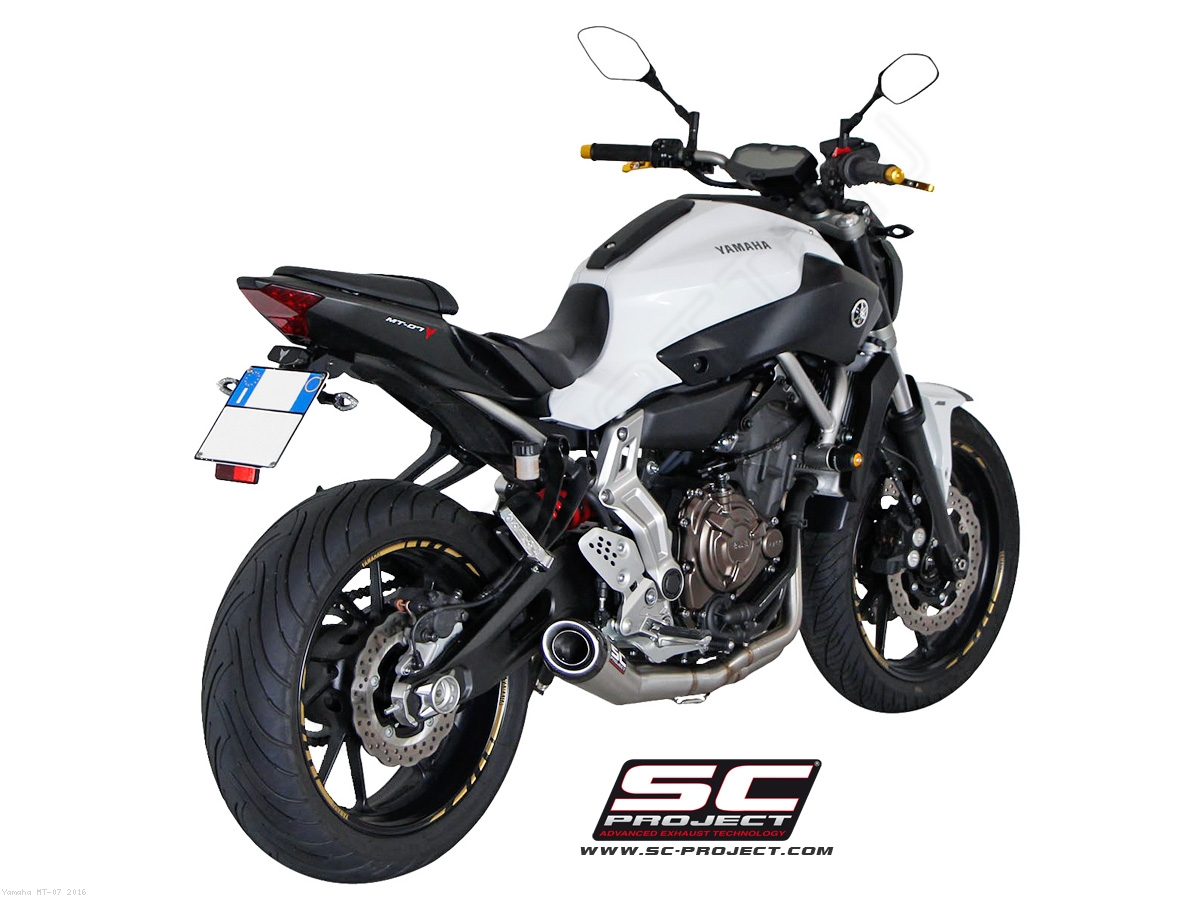 conic exhaust by sc project yamaha mt 07 2016 y14 c21a